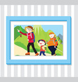 Family Play3 Photo vector image