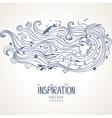 girl inspiration vector image
