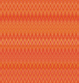 Pattern of the rhombus elements abstract orange vector image