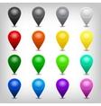 web map icon vector image