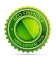 Eco friendly label vector image