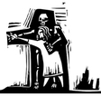 Dance with Death vector image vector image