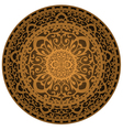 brown rug vector image vector image