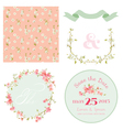 Spring Blossom Flowers Background vector image