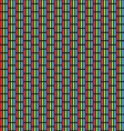 Analog TV Screen Close Up Texture vector image vector image