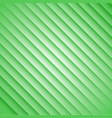 abstract green stripes on a white background vector image