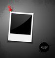 Instant photo design vector image