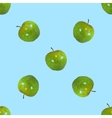 Seamless pattern a apples vector image