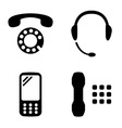 phone set vector image