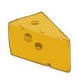 Cheese Chunk vector image