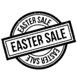 Easter Sale rubber stamp vector image