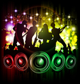 dance and music vector image vector image