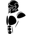 ghost warrior vector image