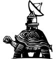 Radio Turtle vector image vector image