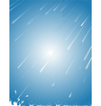 rain abstract vector image vector image