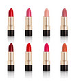 lipstick assortment set vector image