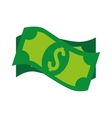 bills dollar money cash isolated vector image