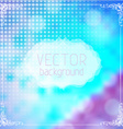 blur background with white badge and bokeh vector image