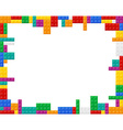 plastic constructor 03 vector image