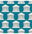 seamless pattern of buildings banks vector image vector image