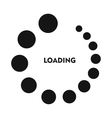 Loading icon in simple style vector image
