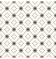 Seamless pattern of sun shape and dot vector image