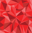Abstract Red Triangle Geometrical Background vector image vector image