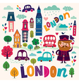 London symbols vector image