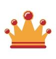 queen crown icon vector image