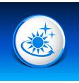 sun icon sun icon outdoor sunlight shine vector image