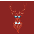 Hipster Stag3 vector image