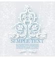 Vintage baroque elements vector image vector image