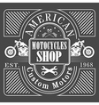 motocycles vector image