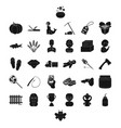 profession food and other web icon in black style vector image