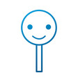 smile rating customer service happy vector image