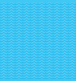 creative wave shape pattern vector image