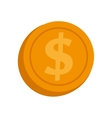 currency coin money isolated vector image