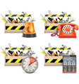 Toolbox Icons set 2 vector image vector image