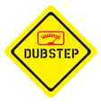 dubstep logo vector image vector image