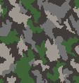 Camouflage seamless background vector image vector image