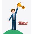 people achievements desing vector image