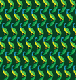 Peacock background vector image