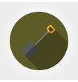 Shovel Icon Flat vector image