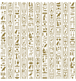 Ancient Egyptian writing vector image