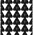 Black and white triangle abstract geometric vector image