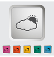 cloudness vector image vector image