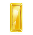 gold piece vector image vector image