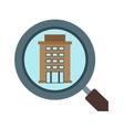 Find Hotel vector image