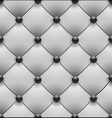 white royal upholstery seamless background vector image