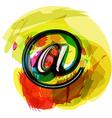 Artistic at Symbol vector image